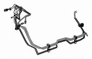 2011 Jeep Grand Cherokee Bundle  Fuel Line   3 0l V6 Turbo Diesel Engine