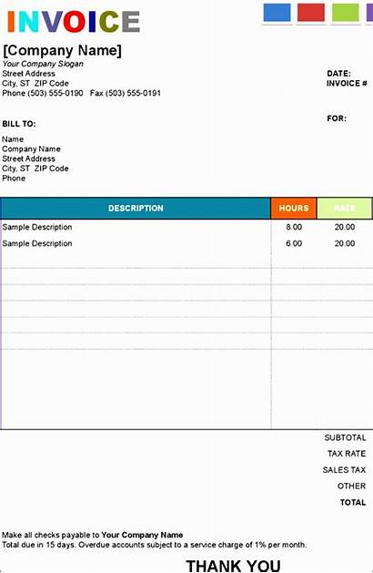 Template Excel Order Invoice Painting Help Templates