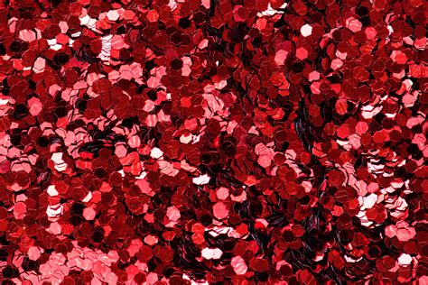 Red Glittered Wallpaper · Free Stock Photo