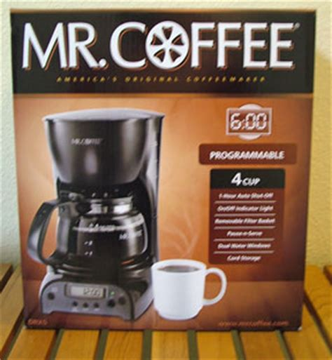 21478 Mister Pot Coupon by Target Mr Coffee Coffee Machine Only 11 99