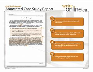 Write Online Case Study Report Writing Guide Resources For