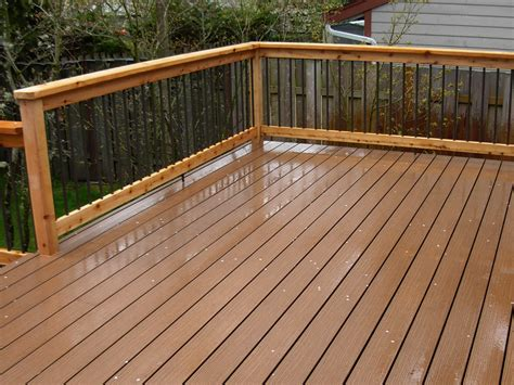 prevent slips  falls  timbertech synthetic wood