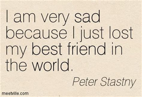 I Lost My Best Friend Sad Quotes