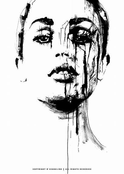 Truth Portrait Prints Se Ink Drawings Artist
