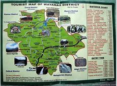 Very Important Wayanad Map Maps and Routes An India