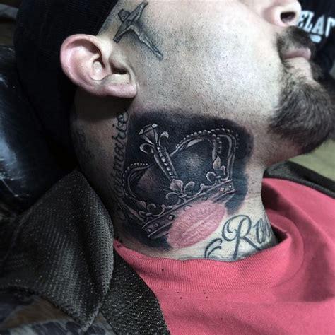 powerful crown tattoos  men