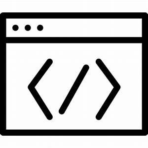 Code Window Icon | Line Iconset | IconsMind