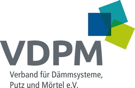 Verband Fuer Daemmsysteme Putz Und Moertel Vdpm by Detail