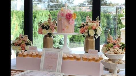 beautiful bridal shower decorations ideas table