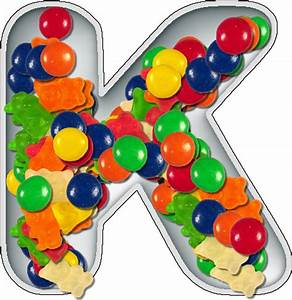 presentation alphabets candy dish letter k With alphabet letter candy dishes