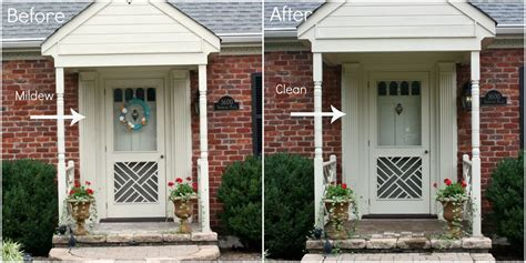 Hometalk  Cleaning Outside Front Entry For Curb Appeal
