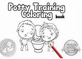 Potty Training Coloring Toilet Boys Amazon Books Volume Camila Na Tips sketch template