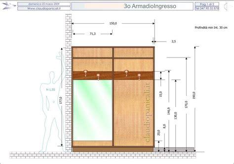 Dimensioni Guardaroba by Dimensioni Armadio Standard Idee Per La Casa