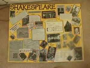 William Shakespeare Collage Examples