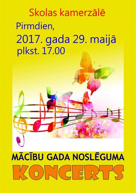 2016./2017. mācību gada noslēguma koncerts - Salaspils ...