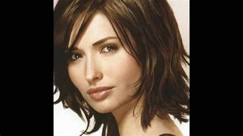 medium length layered hairstyles   view