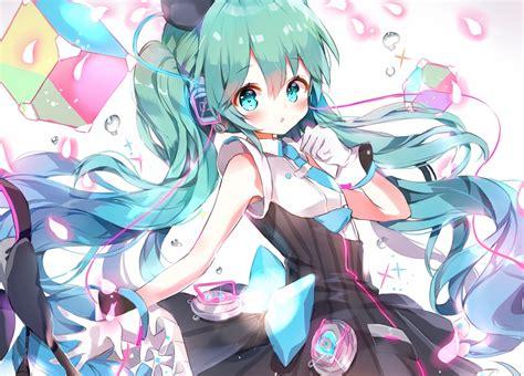 Download 1600x1150 Hatsune Miku Moe Cute Twintails