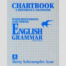 Understanding And Using English Grammar 3rd Edition Chartbook