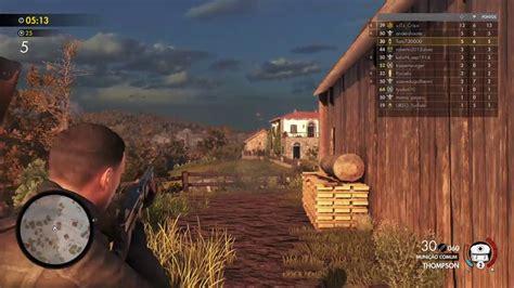 Sniper Elite 4 Multiplayer Online Youtube