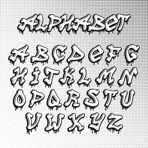 graffiti font alphabet vector lettering alphabet graffiti lettering fonts graffiti font