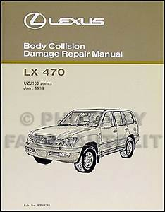 2002 Lexus Lx 470 Wiring Diagram Manual Original