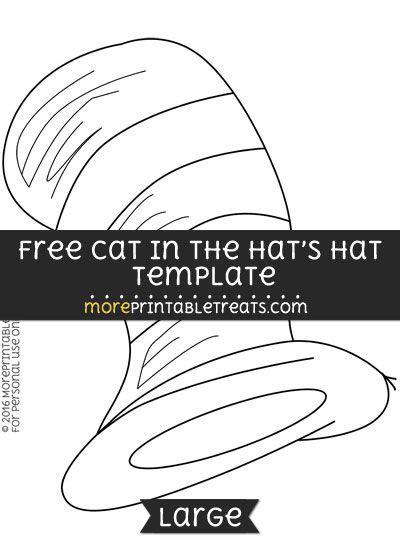 cat   hats hat template large hat template