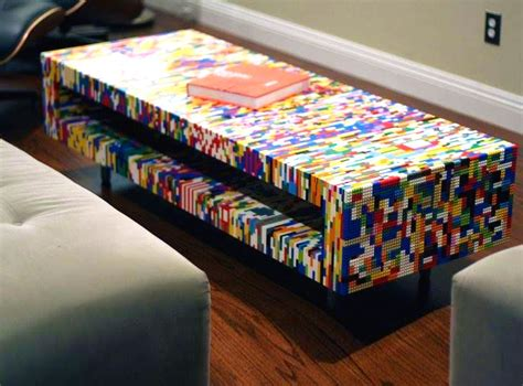 diy kitchen island table 21 insanely cool diy lego furniture and home decor