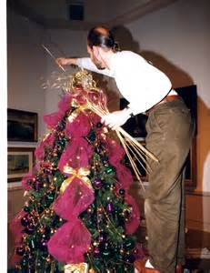 how to decorate a tree with tulle fred gonsowski garden home