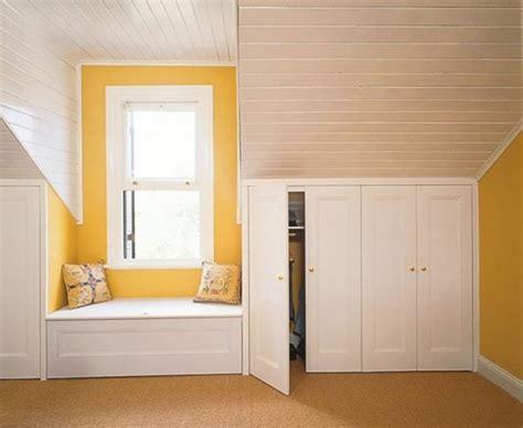 mod鑞e dressing chambre 1001 idée pour un dressing sous pente gain de place