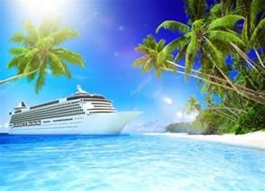 Cruise Ship Tropical Beaches