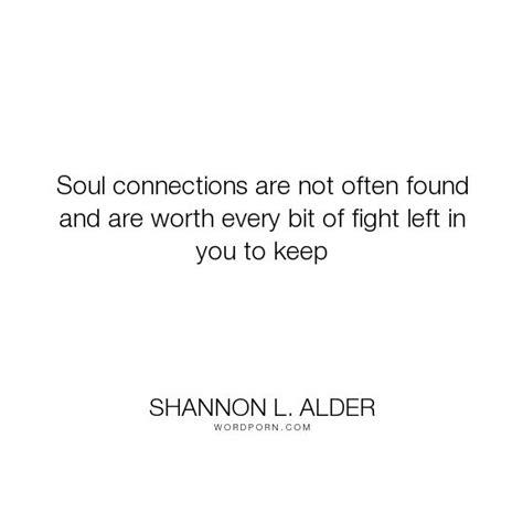 Soul Connection Love Quotes