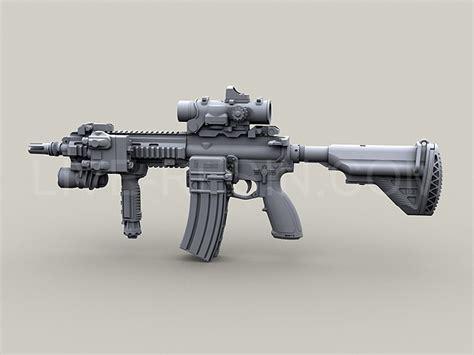 Heckler & Koch Hk416 Modular Assault Rifle, Long And Short