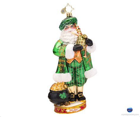 christopher radko celtic pride christmas ornament
