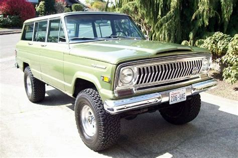 1970 jeep grand wagoneer prestine 1970 jeep wagoneer four by four pinterest