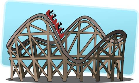 Image result for roller coaster images clip art free