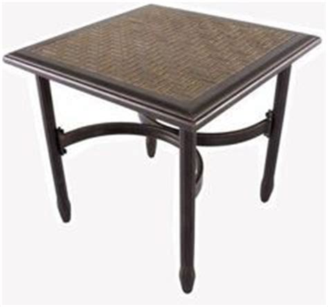 tile top patio table on 85 pins