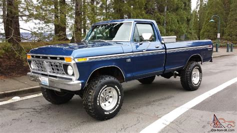 Ford F250 4x4 by 1975 Ford F250 4x4 Highboy 460v8