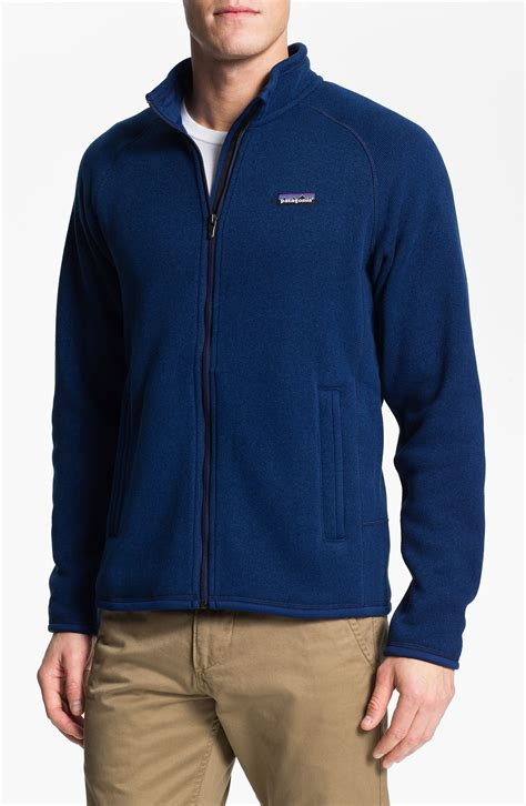 patagonia better sweater patagonia better sweater jacket in blue for channel