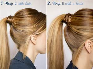 10 Ways to Dress Up Your Ponytail - Say Yes
