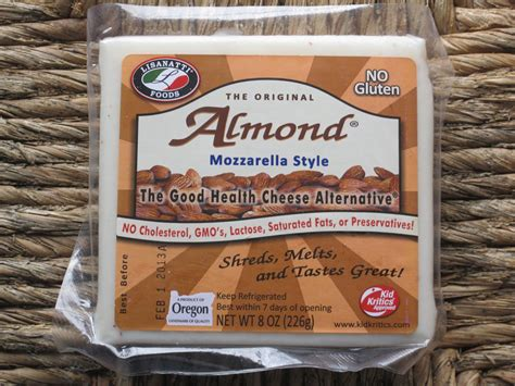 almond cheese halal healthy way dairy alternatives almond cheese lisanatti foods
