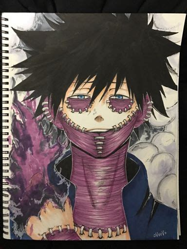 villainsunite dabi  hero academia amino