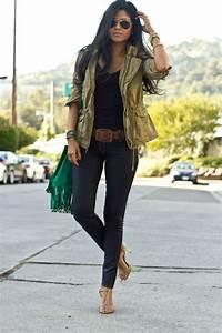 Tenue Tendance Femme : tous les styles de la veste militaire femme ~ Melissatoandfro.com Idées de Décoration