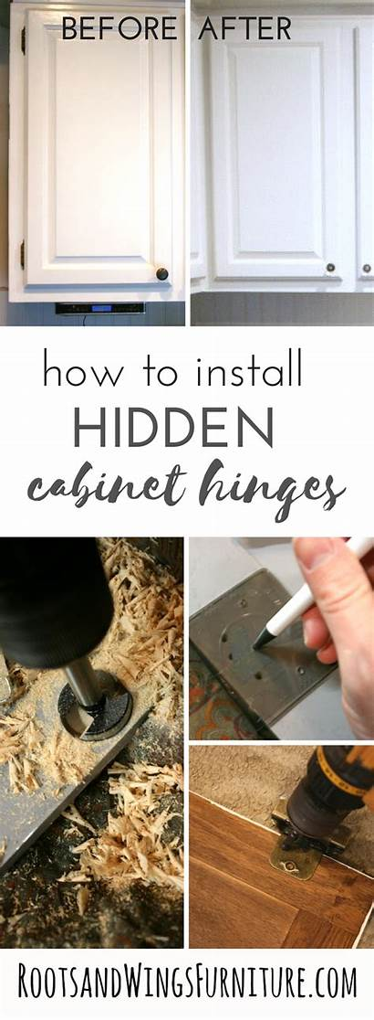 Hinges Cabinet Kitchen Cabinets Overlay Install Diy