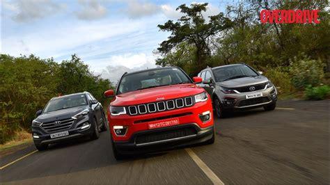 jeep tata jeep compass vs tata hexa vs hyundai tucson vs mahindra