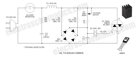 Light Dimmers Projects Circuits