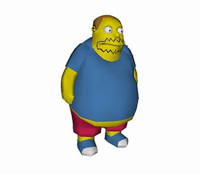 Models Resource Wii Simpsons Comic Guy Archive