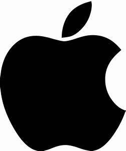 Apple Logo Black Png