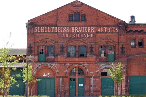 Schultheiss Brauerei Berlin abteilung ii ehemalige schultheiss brauerei berlin