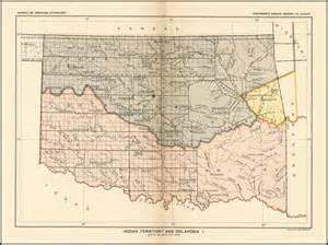 united states department of interior bureau of indian affairs indian territory and oklahoma barry ruderman antique maps inc