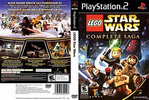 Lego Star Wars The Complete Saga Dvd Custom Por Fredius